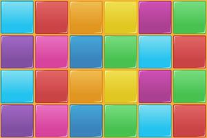 Colourful square seamless pattern