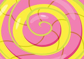Abstract swirl circle background vector