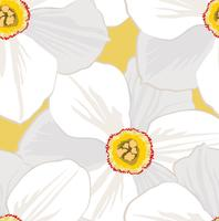Floral seamless pattern. Flower background. vector