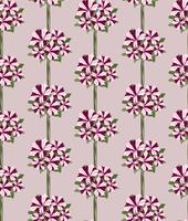 Floral seamless pattern. Decorative flower background.