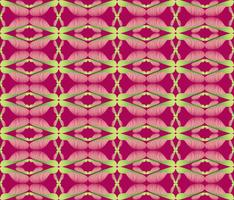 Abstract floral ethnic pattern. Geometric ornament.