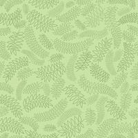 Nahtlose Blümchenmuster Leaf Hintergrund. Schnörkelverzierung mit Blättern