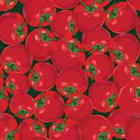 seamless background from ripe autumn vegetable tomato