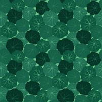 Abstract floral tile pattern. Garden leaves background