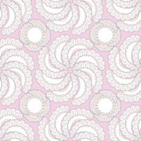 Abstract floral ornamental pattern. Flower seamless textured bac