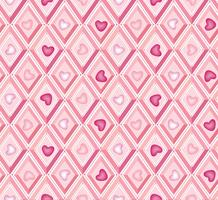 heart pattern. it's a girl seamless pattern. diamond pattern.