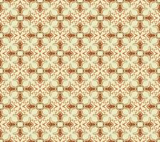 Seamless mosaic pattern Abstract floral ornament Oriental fabric texture
