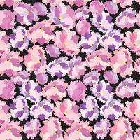 Abstract floral dot Bloemblaadje naadloze patroon Swirl floral textuur