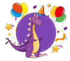 Dinosaur at a party