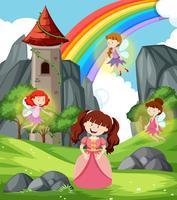 Prinzessin mit Feen Szene