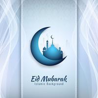 Ilustração abstrata do fundo religioso de Eid Mubarak