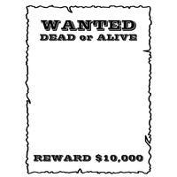 Poster de procurado