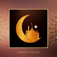 Abstract religious Ramadan Kareem background vector