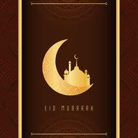 Abstract Eid Mubarak religious background