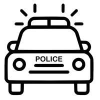 politie auto vector eps