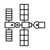 vetor de nave espacial nave espacial eps