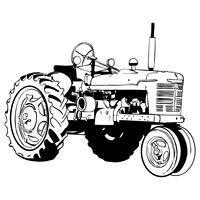 tractor vector eps
