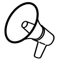 bullhorn megafoon sirene