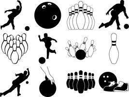 bowling bundel vector eps