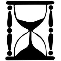 hourglass vector eps