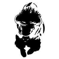 vetor de bison eps