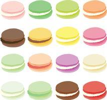 macarons vectoriels eps
