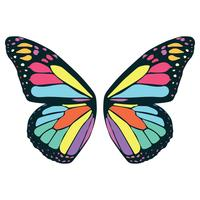 fjäril vinge