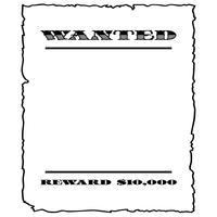 cartel de se busca