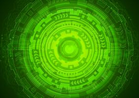 green eye cyber security concept,  abstract hi speed digital internet. future technology, vector background.