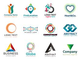 Modern logo design collection