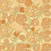 Floral seamless pattern. Flower background. Flourish garden texture