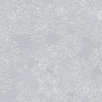 Schneeflocke Metallabdruck