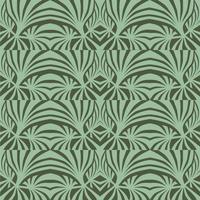 Patrón floral abstracto Ornamento inconsútil geométrico con estilo