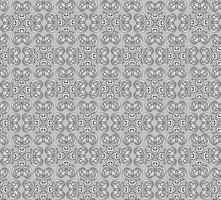 Line floral pattern. Abstract ornament. Brocade seamless background