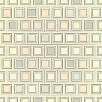 Abstract geometrisch vormpatroon. Vierkant ornament. Tegel achtergrond