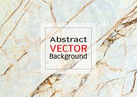 Vector white brown marble texture.