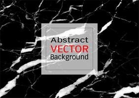 Vector black marble texture.