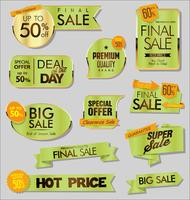 modern sale stickers