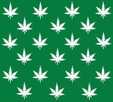 Marihuana Hintergrund Vektor