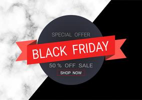 Black Friday sale inscription design template