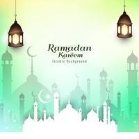 Fond de festival islamique abstrait ramadan Kareem