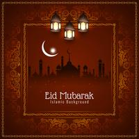 Abstract religious Eid Mubarak Islamic background