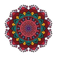 Belle mandala coloré 5