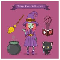 Fairy tale witch set