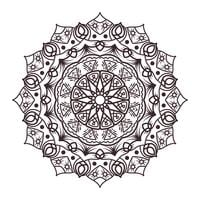 Mandala designs for adult coloring books, decorations, etc.