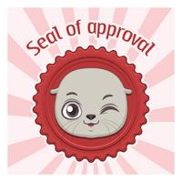 Funny seal of approval pun