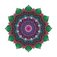 Belle mandala coloré 3
