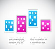 papel urbano vector