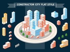 Construtor Urbano vetor