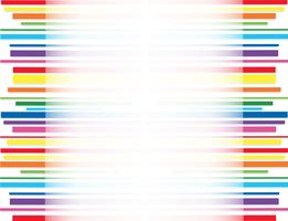 rainbow line abstract art background